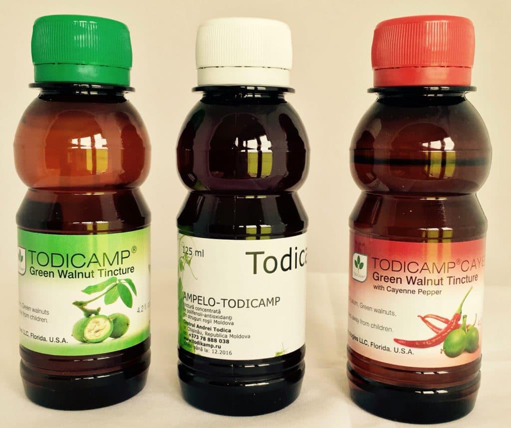 Тодикамп с керосином против грибка