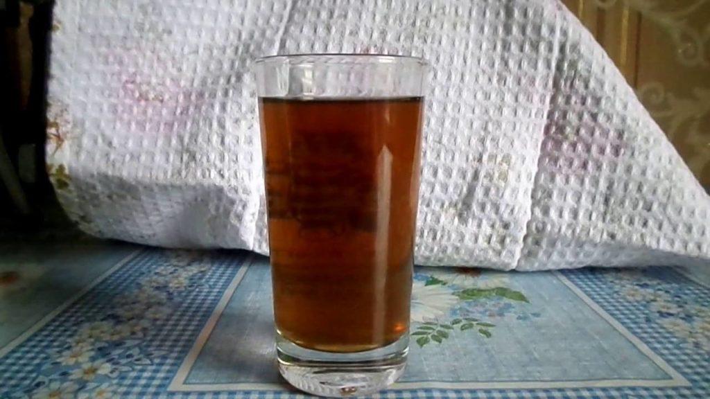 Напиток чайного гриба при грибке ногтей