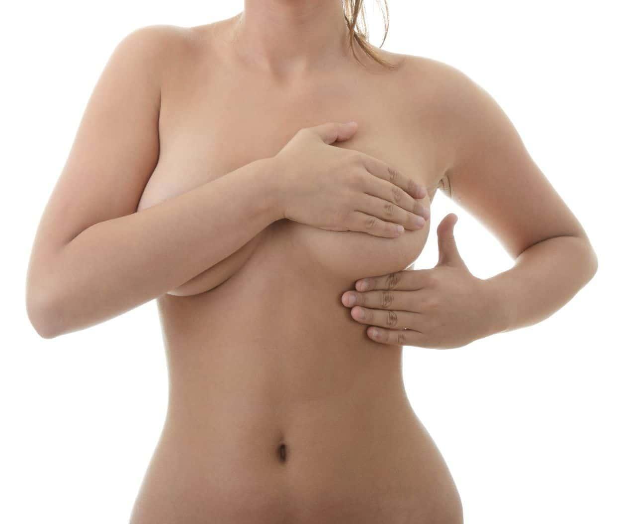 Молочница под грудью