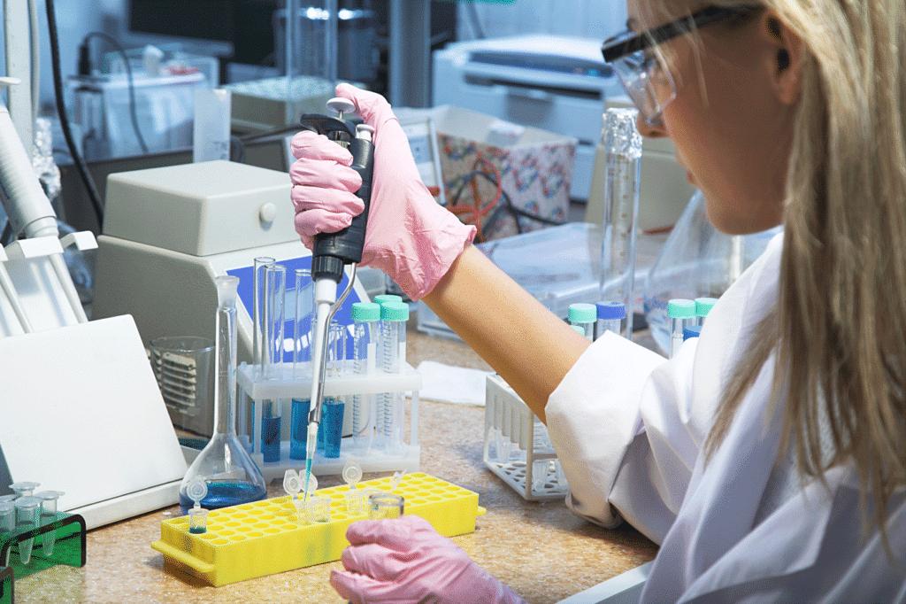 Диагностика дерматофитии в лаборатории