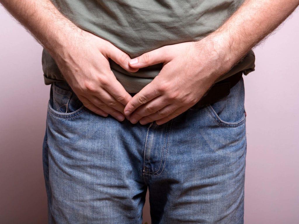 Причины грибка в паху у мужчин