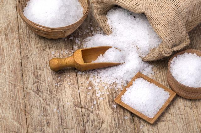 Методы лечения грибка ногтей солью
