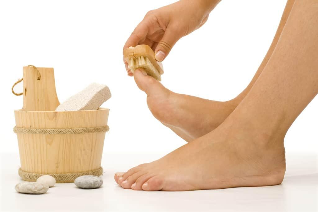 Гигиена ног при грибке