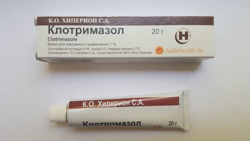 Препараты от грибка в паху