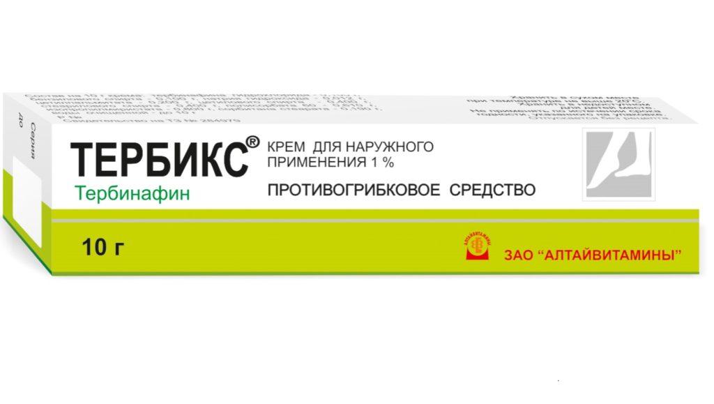 Тербикс (крем, спрей) от грибка: инструкция по применению