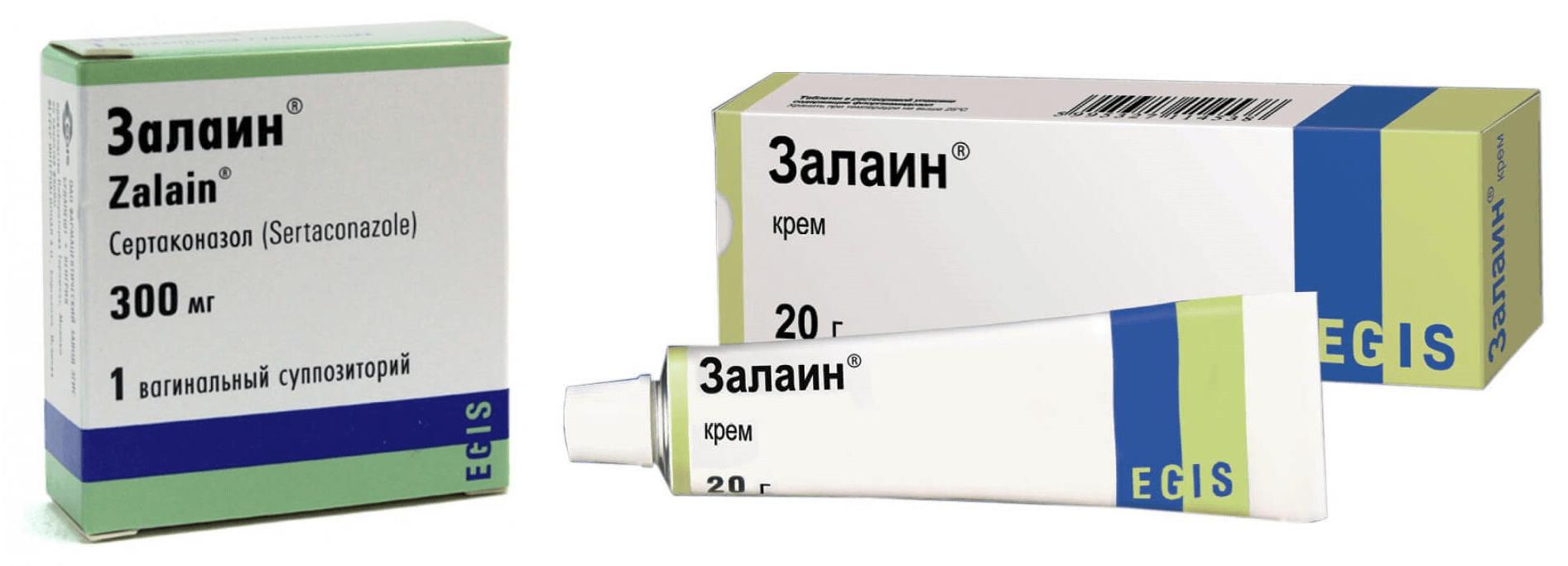 Состав и формы выпуска препарат «Залаин»