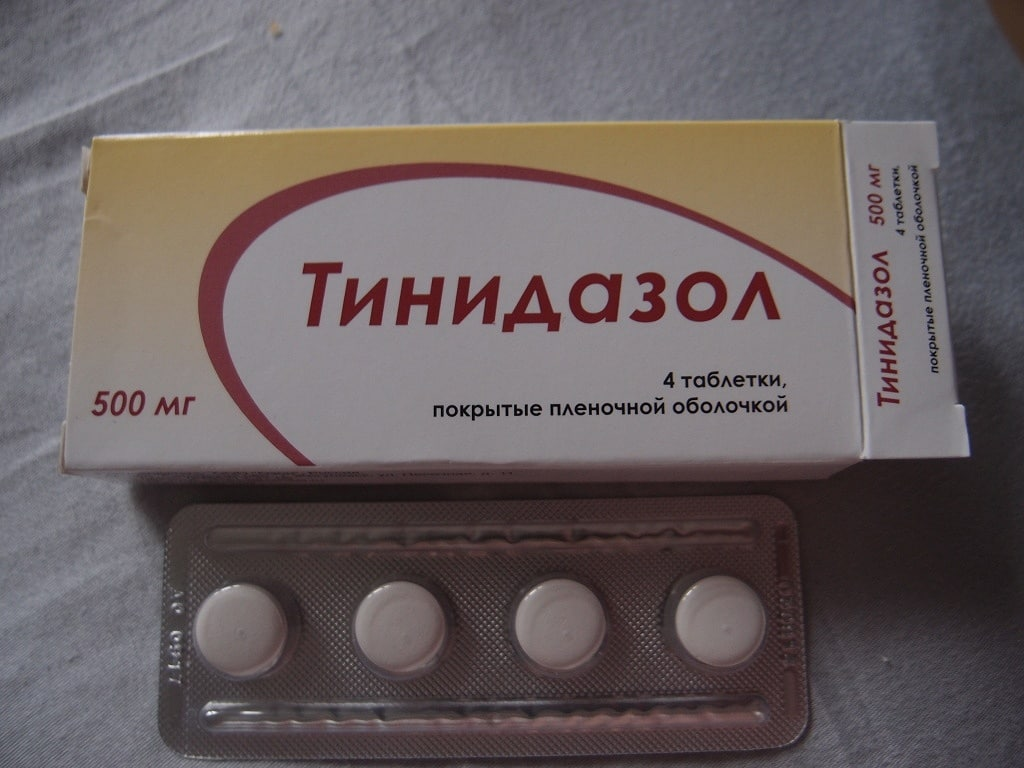 Состав и форма выпуска Тинидазола