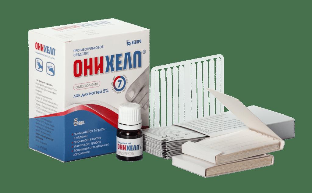 Онихелп – лак от грибка ногтей: подробная инструкция по применению